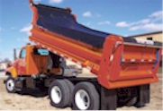 High Heat Asphalt Tarps for Dump Bodies