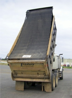 Heavy Duty Mesh Dump Truck Replacement Tarps 8'wide
