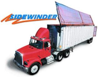Side Flip Transfer Trailer Replacement Tarps