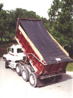 High Temperature Asphalt Tarps and Covers