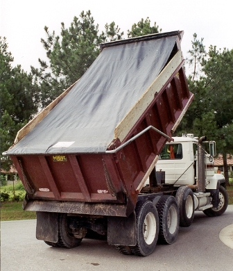 Standard Asphalt Tarps for Dump Bodies 7' & 7' 6